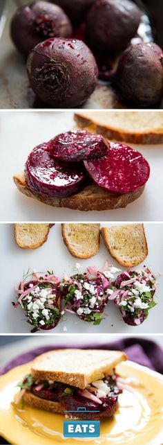 Beets may not be an obvious sandwich choice, but if you stop to think about what they add, it becomes clear that they offer everything a sandwich needs—namely, a tender, juicy, flavorful filling that contrasts with the bread in the best possible way.