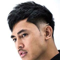 Asian Men Hairstyles: 28 Popular Haircut Ideas for 2020 Asian Fade Haircut, Asian Undercut, Drop Fade Haircut, Crop Haircut, Asian Men Hairstyle, Men Hairstyles, Haircuts For Men, Asian Hairstyles, Low Skin Fade