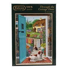 Falcon de Luxe - Through the Cottage Door 500 Piece Jigsaw Puzzle