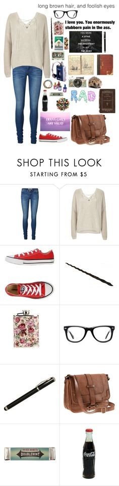 """Yes I'm a Girl, No I Don't Care If I Was Born With A D*ck"" by sweetpete0829 ❤ liked on Polyvore featuring Vero Moda, River Island, Converse, GHETTO FAB, Muse, Laurex, PATH, H&M and Miss Bibi"