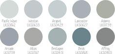 paleta Lukscolor 50 tons de cinza                                                                                                                                                                                 Mais