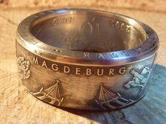 Silberringe - Silberring,Magdeburger Motive,Ø22mm erhältlich  - ein Designerstück von schmuck-checker bei DaWanda
