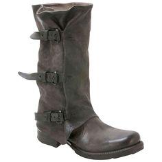 A.S.98 Women's Sema 717349 Smoke Grey Mid-Calf Boot | Infinity Shoes