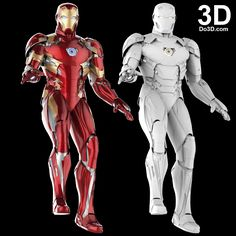 3D Printable Suit: Iron Man Mark XLVI Armor (Model: MK 46) from Captain America Civil War Version 2.2 | Print File Formats: STL OBJ – Do3D.com