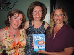 Book club!  Thanks Amy, Jill and Martha :) #RadicalSabbatical