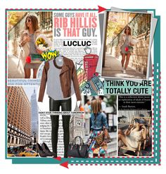 """""""LUCLUC 3"""" by maja15 ❤ liked on Polyvore featuring MELIN, Luli, Yves Saint Laurent, Retrò, Band of Outsiders, MAC Cosmetics, Alexander McQueen, Pointer and lucluc"""