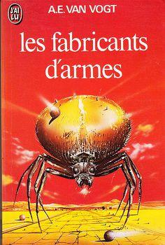 A.E. Van Vogt - Les fabricants darmes, Editions Presses Pocket n° 440 de 1981 Couverture de Siudmak