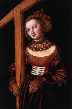 St Helena  1525  Oil and tempera on red beechwood, 40 x 27 cm  Art Museum, Cincinnati