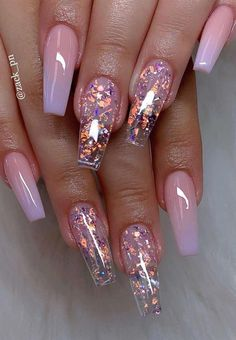 Cute Acrylic Nails 391602130101968885 - 40 Fabulous Nail Designs That Are Totally in Season Right Now – nail art designs,almond nail art design, acrylic nail art, short nail designs with glitter Source by Nail Design Glitter, Cute Acrylic Nail Designs, Diy Acrylic Nails, Short Nail Designs, Glitter Nails, Gel Nail Designs, Acrylic Nails For Summer, Unique Nail Designs, Solar Nail Designs