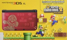 NEW Nintendo 3DS XL Super Mario Bros 2 #ad