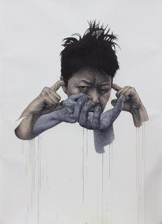 NEW WORKS BY KOREA'S SPUNKY ZOE  #Illustration