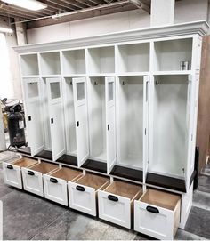 the-shaker-georgia-mudroom-lockers-bench-storage-cubbies-coat-rack-hall-tree-far/ - The world's most private search engine Cubby Storage, Bench With Storage, Locker Storage, Mudroom Storage Ideas, Coat Storage, Entryway Storage, Shoe Storage, Room Organization, Mudroom Cabinets