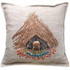 Lovely! bowerbird pocket pillow