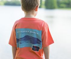 Southern Marsh Expedition Series - Rainbow Trout - Short Sleeve - Youth