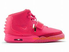watch ac6fe fae7a Boutique Nike Air Yeezy 2/II GS 2015 Chaussures Nike LifeStyle Pour Femme  Rose-