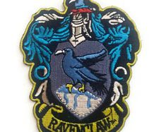 """Harry Potter raven claw embroidered patch-heat sealed-sew on-iron on backing-size 3.5 X 2.75"""" - Edit Listing - Etsy"""