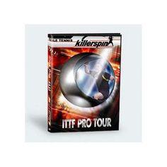 Killerspin Table Tennis 2001 ITTF PRO Tour DVD Vol.1