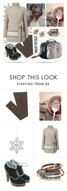 """Treat Yourself"" by heberosenewyork ❤ liked on Polyvore featuring Diverso, Shishi, Jacques Vert, Dolce&Gabbana, SPINELLI KILCOLLIN and LE VIAN"