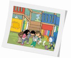 Infantil Mercedarias: Los amigos de Pupi , Cuento animado