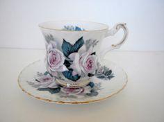 Vintage Elizabethan Fine Bone China Tea Cup and by oldandnew8, $12.00