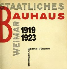 Laszlo Moholy-Nagy, title page Staatliches Bauhaus in Weimar. Walter Gropius, Tool Design, Design Art, Layout Design, Design Bauhaus, Bauhaus Art, Laszlo Moholy Nagy, Title Page, Graphic Design Illustration