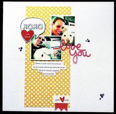 Love You - Scrapbook.com