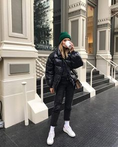 Casual Winter Outfits, Winter Outfits For Work, Winter Fashion Outfits, Look Fashion, Stylish Outfits, Fashion Weeks, New York Winter Fashion, Cold Winter Fashion, New York Winter Outfit