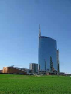 Contemporary architecture in Milan.
