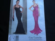 Vogue Paris Original pattern 1016. Guy Laroche by Stitchandzip