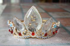 Rapunzel crown by Mijern.deviantart.com on @deviantART