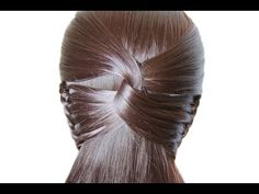Hairstyle for long hair ♛ Simple braiding from hair Hairstyle for long hair ♛ Simple braiding from hair,vlasy-copy Hairstyle for long hai. Curly Hair Braids, Braids For Long Hair, Curly Hair Styles, Trending Hairstyles, Winter Hairstyles, Braided Hairstyles, Hair Styles For Women Over 50, Short Hair Cuts For Women, Beauty Youtubers