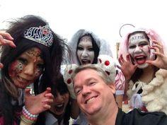 @usj_official Tommy scary USJ fans Halloween weekend 2014