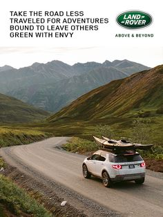 Take the road less traveled for adventures bound to leave others green with envy.