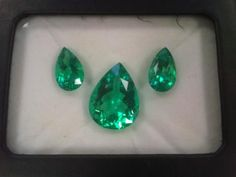 Columbian emeralds. Faraone Mennella.