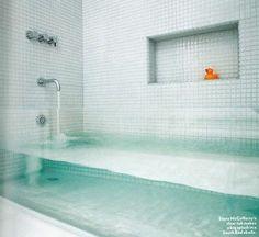 Invisible Bathtub! Cool!!!