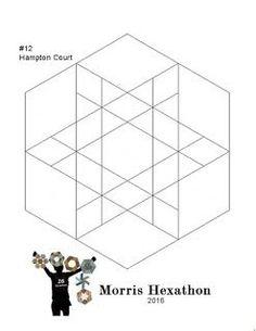 Morris Hexathon 12: Hampton Court | Barbara Brackman's MATERIAL CULTURE | Bloglovin'
