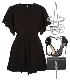 """Sin título #14410"" by vany-alvarado ❤ liked on Polyvore featuring River Island, Kendra Scott, Stuart Weitzman, Cartier and Yves Saint Laurent"
