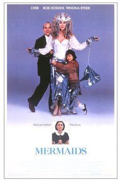 Mermaids movie poster ft. Cher & Bob Hoskins.
