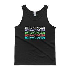 Distractivated Motivational Tank Top for Inspiration  Get