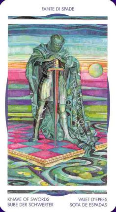 Tarot The Page of Swords