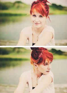 Hayley Williams.. So pretty.. Such a great singer!! Wish I could be like that :)