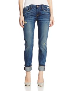 Level 99 Women's Relaxed Lily Selvedge Jean, Chandon, 24
