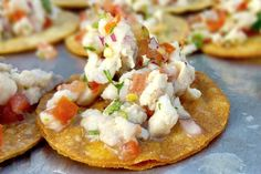 It was a bit on the warm side at last Saturday's wedding in #VistaCA, so these cool & refreshing red snapper ceviche appetizers really hit the spot!  More info: https://www.sohotaco.com/2015/09/20/wedding-catering-at-rancho-buena-vista-adobe #tacocatering #sdfoodies