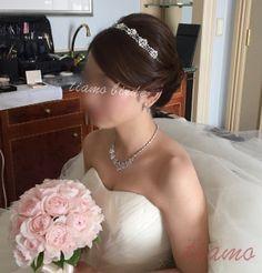 ホテル婚にピッタリな2スタイル♡美男美女の素敵な一日 | 大人可愛いブライダルヘアメイク 『tiamo』 の結婚カタログ