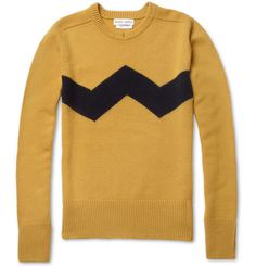 charlie brown sweater // michael bastian