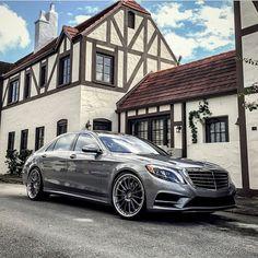 DRIVING BENZES — Mercedes-Benz S 550 (Instagram hrewheels)