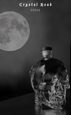 This full moon Friday the 13th deserves to be celebrated with Crystal Head Vodka.