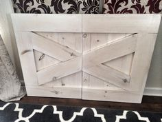 Custom Made Rustic Baby Gate - Rustic Gray