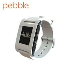 Pebble Smartwatch für iOS und Android Geräte in Arctic White