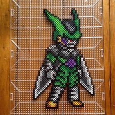 Perfect Cell - Dragon Ball perler beads by  mastablasta3